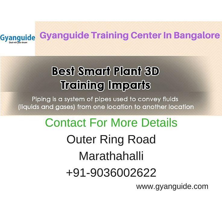 GYANGUIDE provides Smart Plant3D training in Bangalore