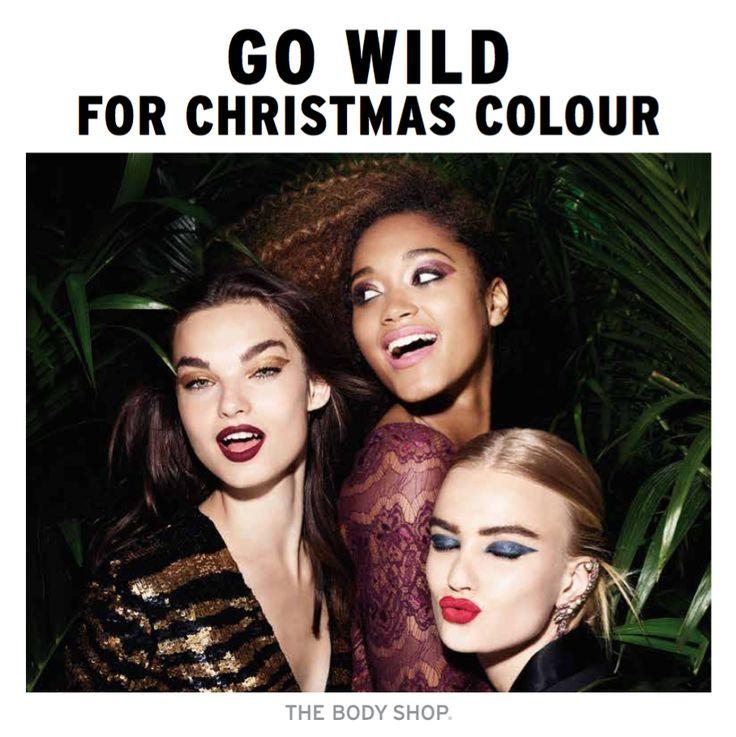 """Jingle Bells Rocks! """"Introducing Three Limited-Edition Make-Up Looks that ensure your beauty game is totally wild!"""" Om er zeker van te zijn dat het een party seizoen start met een brul, introduceren we drie glamoureuze limited edition make-up collecties: Rock the Night, Go for Gold en A True Romance. Elk zorgvuldig ontworpen look is voorzien … """"Uit de Pers: The Body Shop Go Wild For Christmas Colour!"""" verder lezen"""