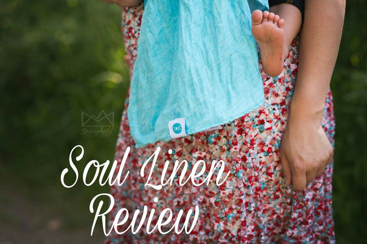 Have you tried an all Linen wrap before? Here are my thoughts on this Soul Slings Linen in my babywearing review. Lots of beautiful Photography inside too!