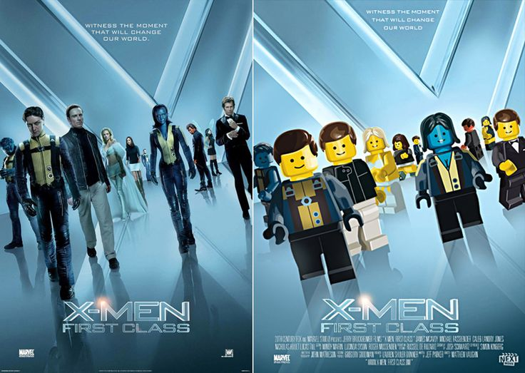 Movie Posters In LEGO Land | duelos.net