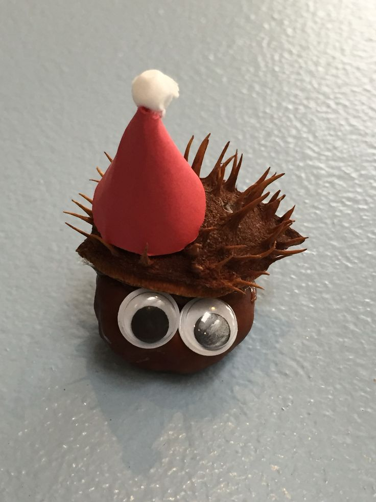 Jule dyr - kastanie