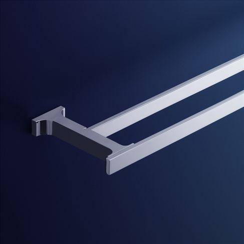 Jovian Double Towel Rail - 600mm - ABL Tile Centre