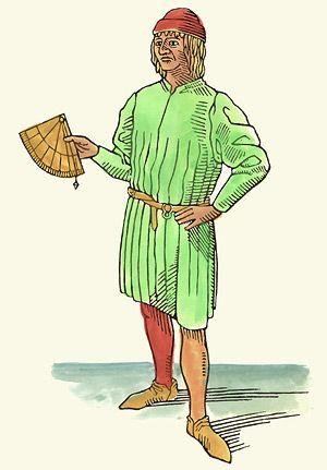 Het gereconstrueerde portret van Christoffel Columbus