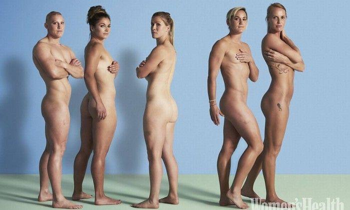 Jogadoras de rúgbi da Grã-Bretanha tiram a roupa contra a ditadura da beleza…