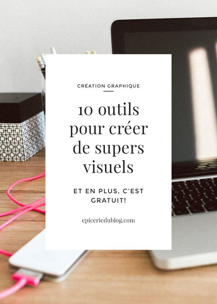 10 outils pour créer de supers visuels (et cela même si vous n