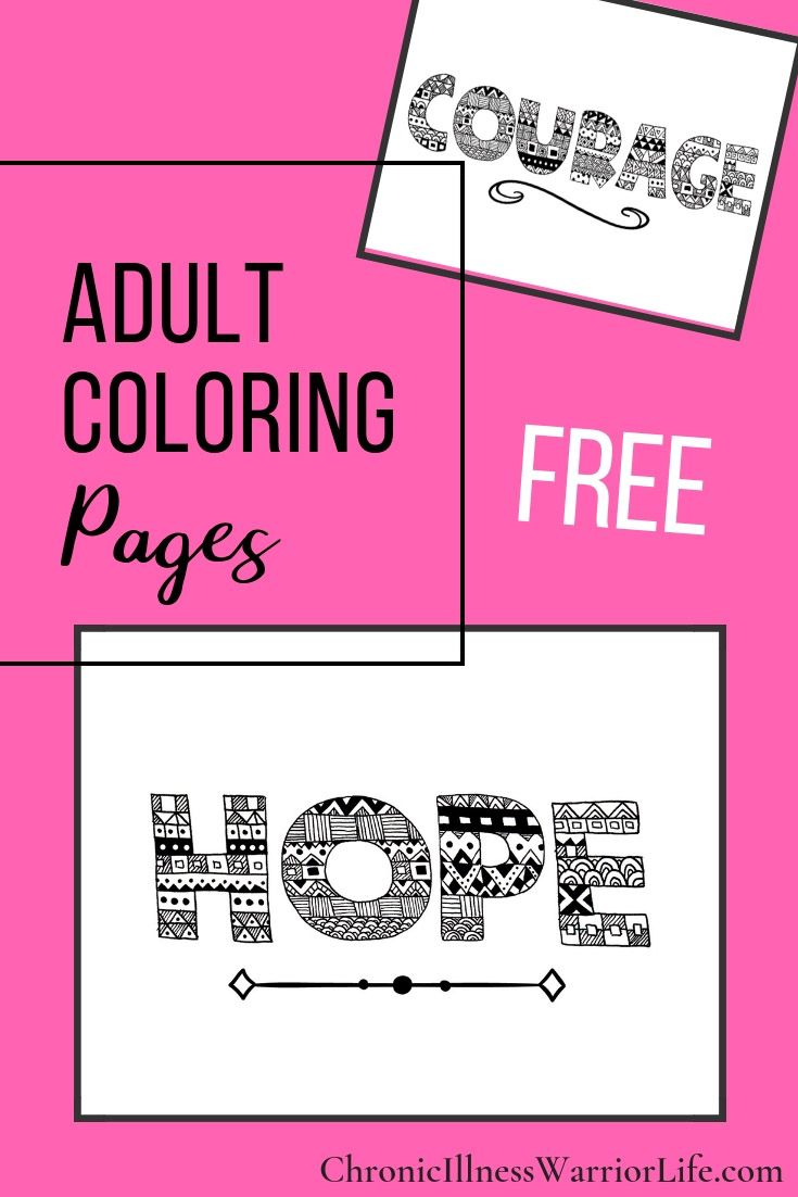 30 Amazing Free Adult Coloring Page Printables | The Best of CIWL ...