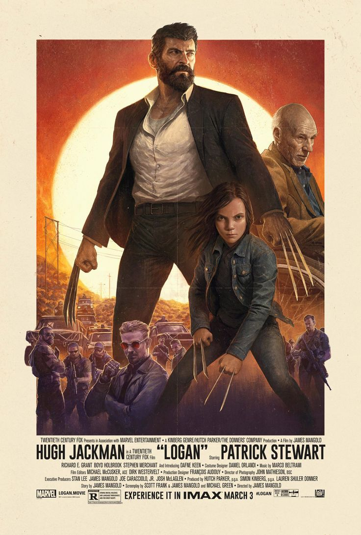 Logan  Here's a gorgeous new IMAX poster for the film. Professor X forgot to strike a pose.