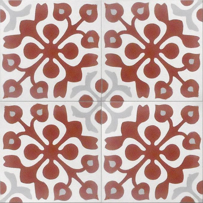 Cement Moroccan Tile from Mosaic House | Remodelista