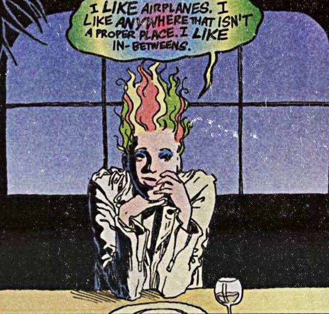 "Delirium from ""The Sandman"""