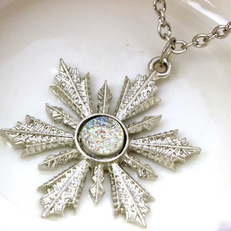 Once Upon A Time, Frozen® - Frozen Snowflake Necklace