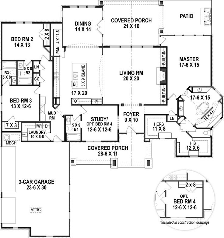 best 20 ranch house plans ideas on pinterest - House Plans Ranch