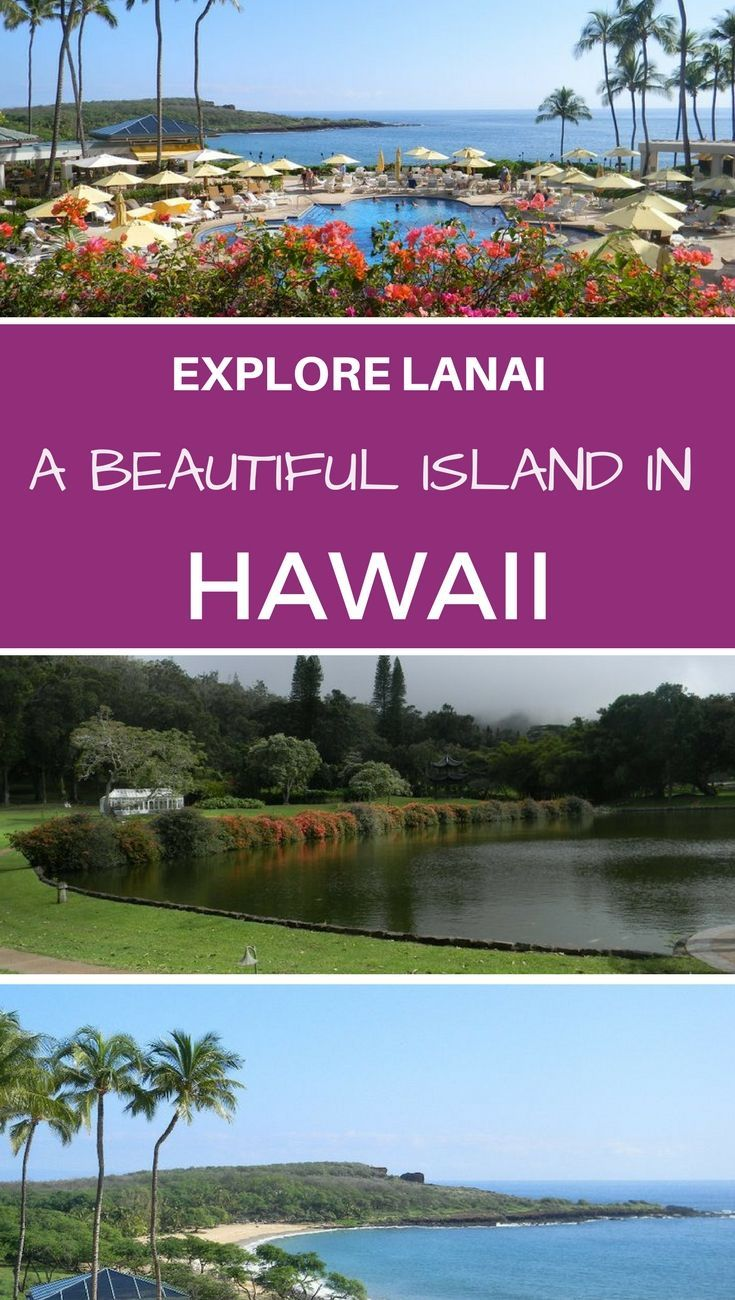 I took a weekend trip to Lanai, the six largest island in Hawaii, and discovered what this beautiful place has to offer,