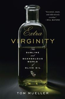 If you think you know olive oil, think again! Currently halfway done with this book as a part of my assigned reading for my Sicily travel writing class. You will be amazed by the truths behind this industry! ( Don't trust the cheap stuff in the supermarkets!)