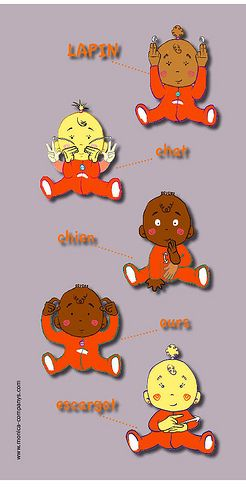 ANIMAUX LFS Langue des signes pour bébé
