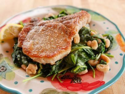 """Lighter Fried Pork Chop (Lighter 16-Minute Meals) - """"The Pioneer Woman"""", Ree Drummond on the Food Network."""