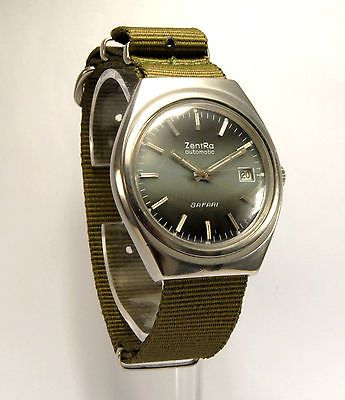Zentra Safari  Automatic Vintage Watch