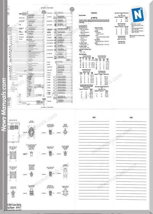Cummins Ism Cm875 Control Module Wiring Diagram