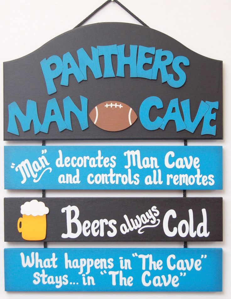 South Carolina Panthers NFL Football wooden sports sign Panthers Football man cave sports sign wooden yard sports sign gifts for guys by UCsportsbyBill on Etsy