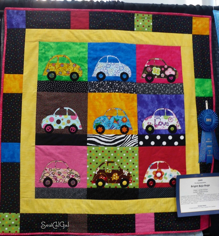 Baja Bugs From SewCalGal: Quilt Shows