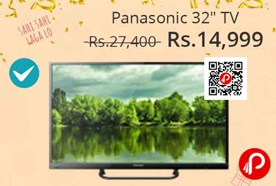 Shopclues #JawDroppingDeals is offering 45% off on Panasonic TH-32D200DX 80 cm ( 32 ) HD Ready (HDR) LED Television at Rs.14999 Only. 1 Year Manufacturer Warranty. 1366 x 768 HD Ready Screen Resolution, HD Ready (HDR), Thin Bezel, 2016 Model TV.  http://www.paisebachaoindia.com/panasonic-th-32d200dx-32-hd-ready-led-television-at-rs-14999-shopclues/