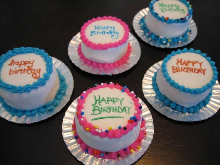 42 best mini cakes images on Pinterest Mini cakes Petit fours and