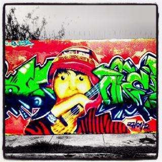 Graffiti en ... ¿Bolivia?