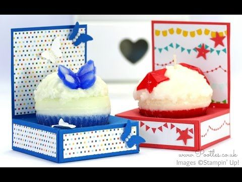 Stampin' Up! Demonstrator Pootles - Cupcake Holder Box Tutorial