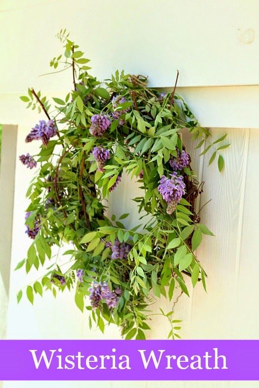 Top This Top That Spring Wisteria Wreath Diy Ideas