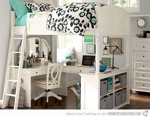 20 Stylish Teenage Girls Bedroom Ideas i love this building!!!