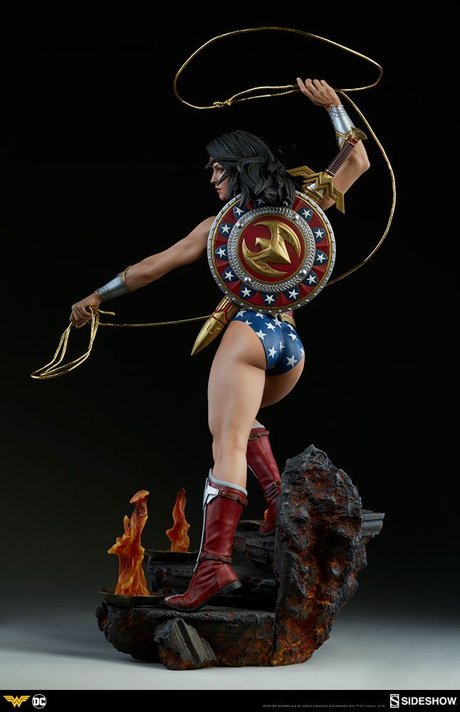 By Athena's Shield! The Wonder Woman Premium Format™ Figure Approaches | Sideshow Collectibles