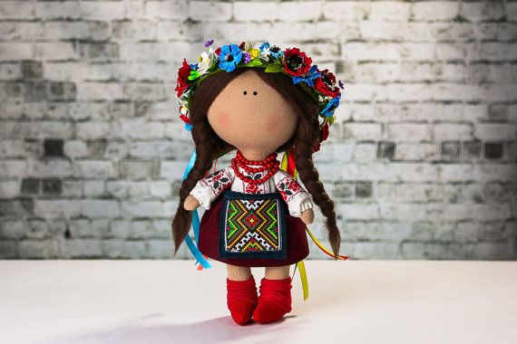 Doll Marichka. Tilda doll. Textile doll. Handmade. Lovely girl. Сollection La…