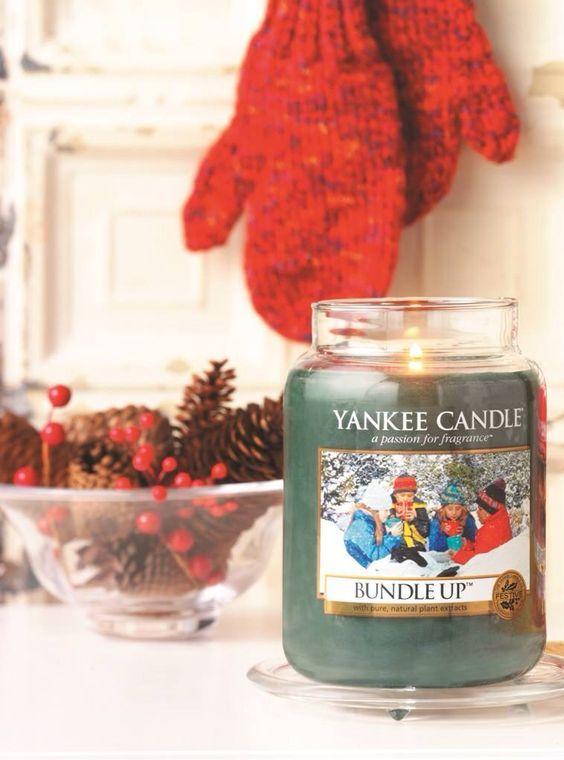 Bundle Up rea ; Passa på så länge det finns i lager. Doften av nytvättat och en touch av citrus.   #YankeeCandle #REA #BundleUp