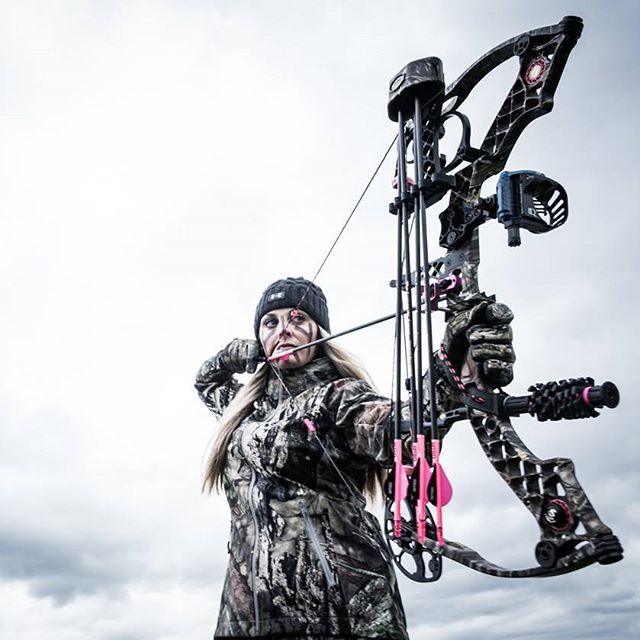 Fate whispers to the warrior you cannot withstand the storm and the warrior whispers back I am the storm.   Gear up for your hunt in the Girls With Guns Clothing Women's Hunting Line, worn by one of the top Whitetail Guides Whitney Fouts of Wicked Outfitters.
