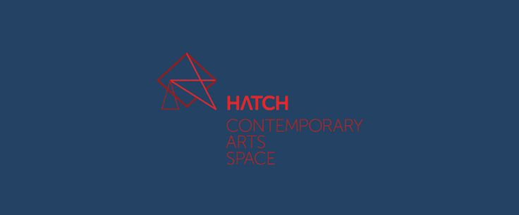 Hatch Contemporary Arts Space Identity & Logo Design by Ennis Perry Melbourne Australia.