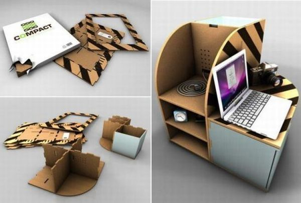 Folding furniture designs for small urban spaces