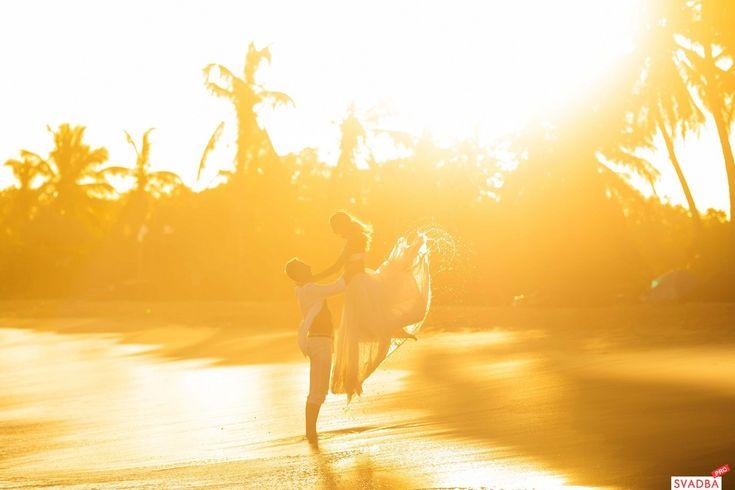 Рассвет на пляже Макао, Доминикана