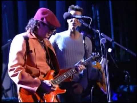 "Jose Feliciano, Carlos Santana and Ricky Martin--Medley: 'Light My Fire' 'Guajira' and ""Oye Como Va'"