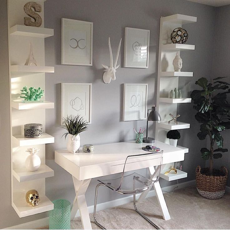 "Home Decor Inspiration on Instagram: ""What great space to be productive! Thanks for the tagging me in your office pic @passion_4_decor"""