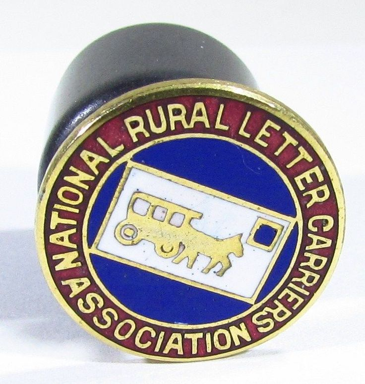 National Rural Letter Carriers Association Screw Back Pin