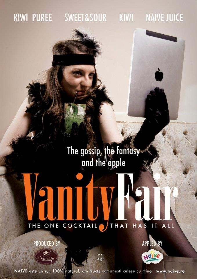 Vanity Fair.  The gossip, the fantasy & the apple.