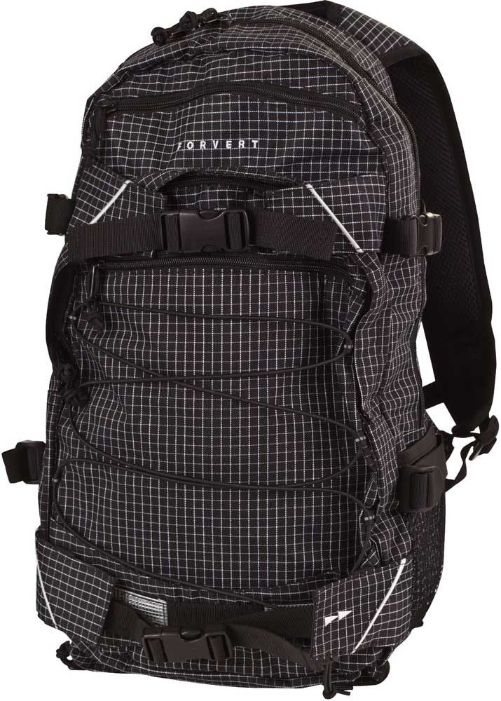Forvert Rucksack New Louis small-black-checked #backpack #forvert #streetwear www.endless-skate.de