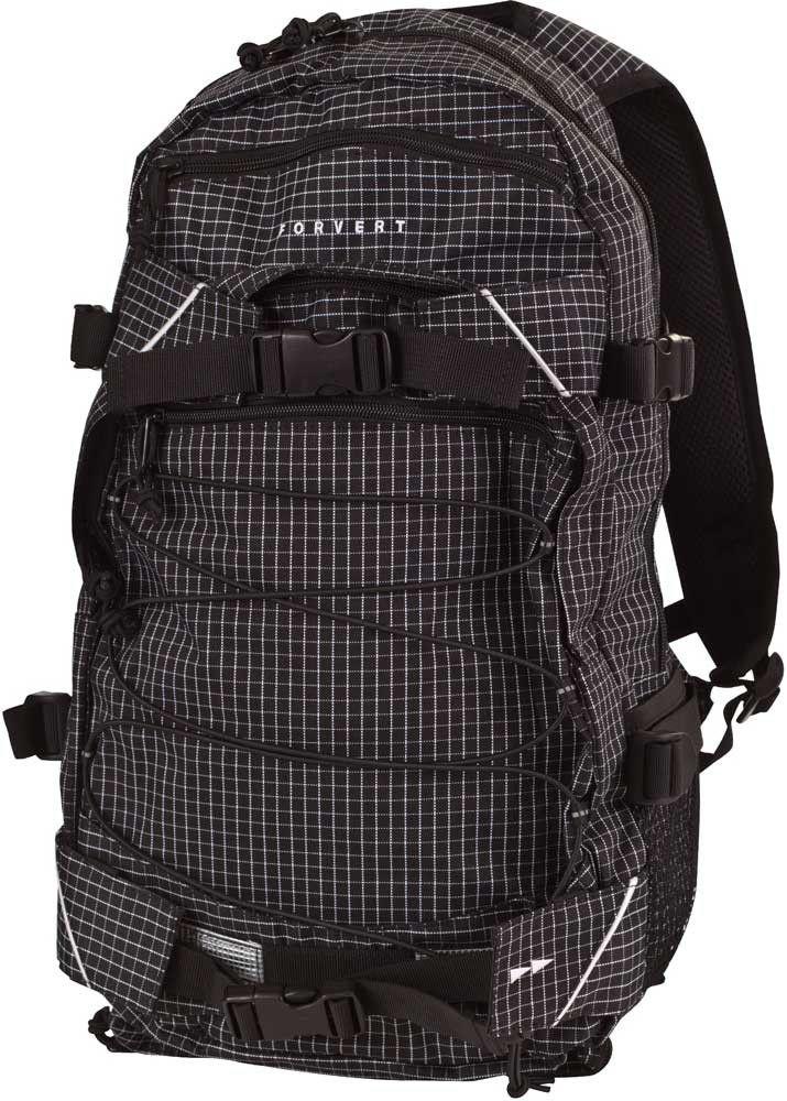 Forvert Rucksack New Louis small-black-checked #backpack #forvert #streetwear www.endless-skate.de