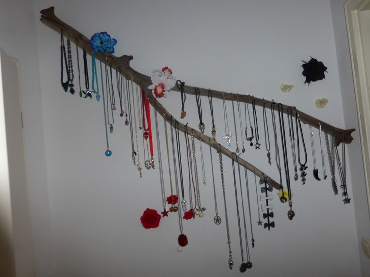 My homemade necklaces holder! Best idea ever!