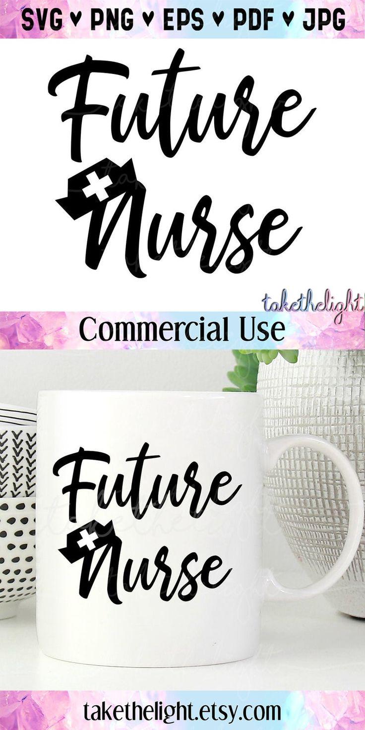 Future Nurse SVG Graduation Gift Medical Nursing Nurse Hat