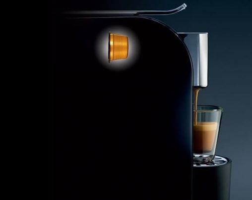 Black Espresto Wave coffee machine.