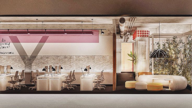 Interior Design Project for Advertising Agency Cozum