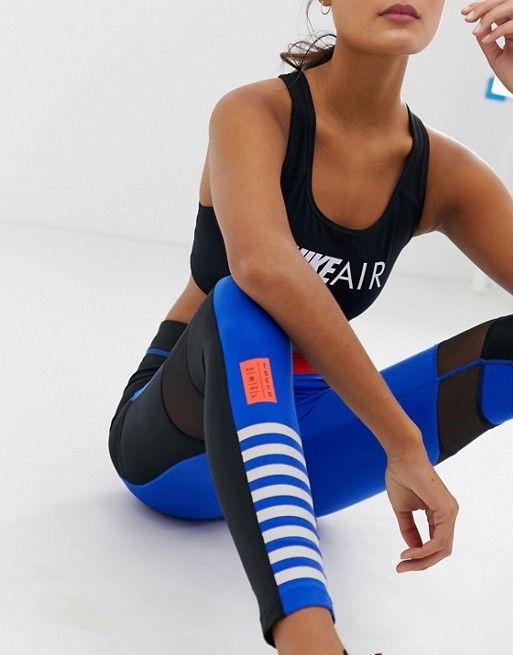 1fdb09548e444 Nike Running Tokyo Marathon Leggings In Blue in 2019 | Spring | Nike ...