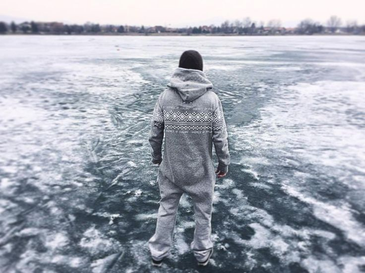 @peterkersak is lost in Omszk Wakeboard Centrun - Hungary with  his Lusekofte Jumpsuit