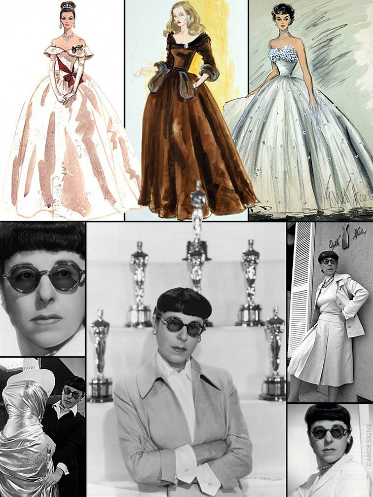 Edith Head (born Edith Claire Posener, Oct. 28, 1897 – Oct. 24, 1981) was an American costume designer who won eight Academy Awards, more than any other woman, after Sheila Nevins. In 1924, despite lacking art and costume design experience, Head was hired as a costume sketch artist at Paramount Pictures. Designing first for silent films, she won her final Oscar in 1974. She worked at Paramount for 43 years until 1967 when she went to Universal Pictures, where she worked until her death in…