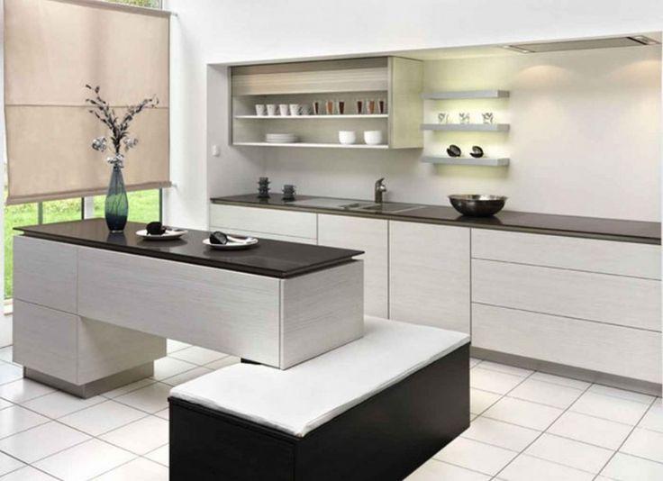 And White Modern Kitchen Ideas